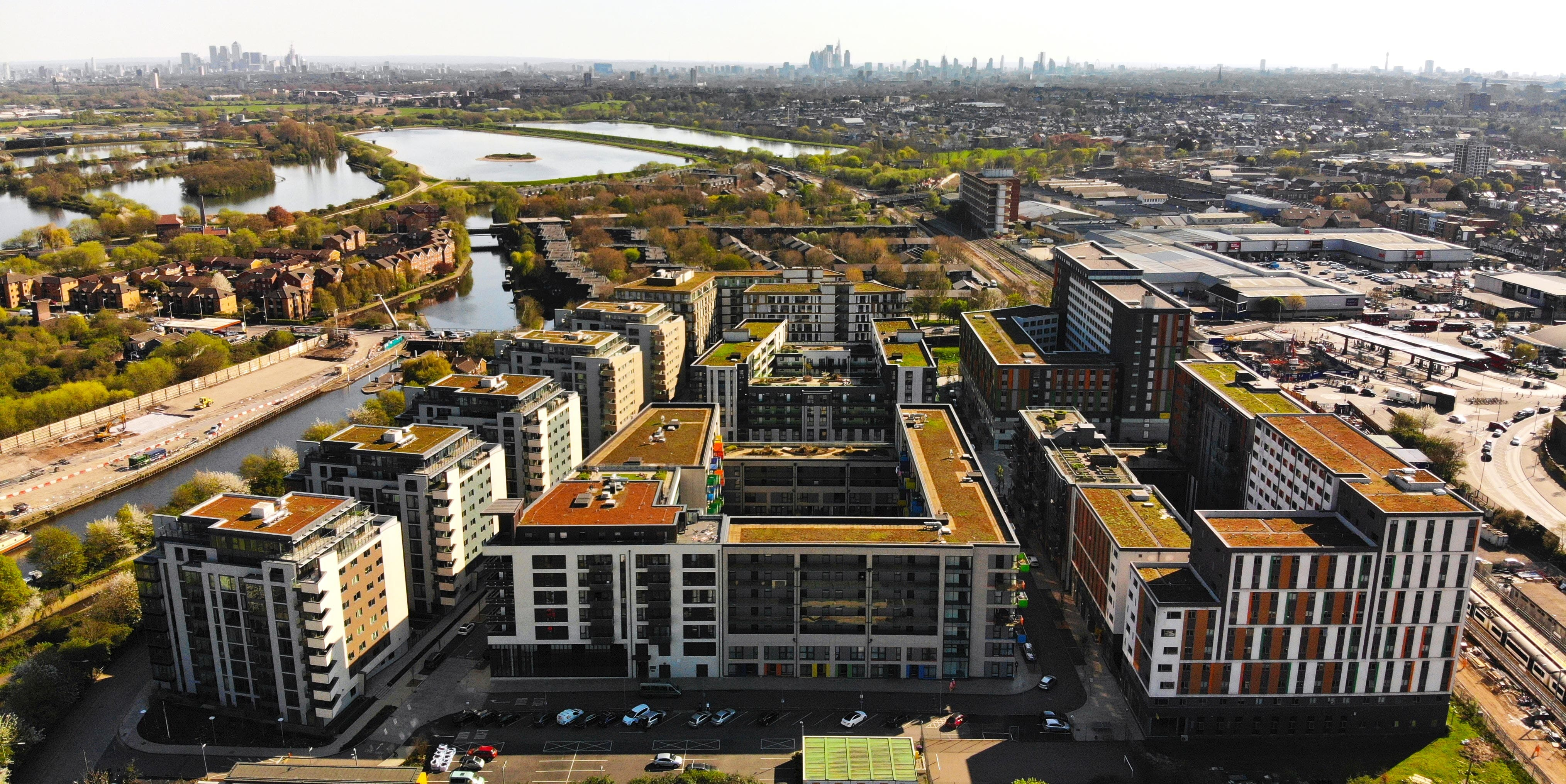 Modern Housing Development in London